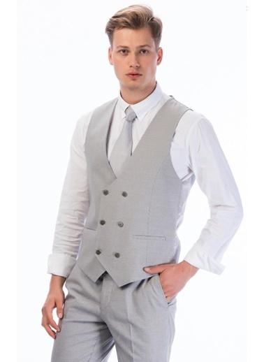 Comienzo Takım Elbise Gri